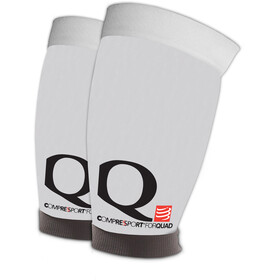 Compressport Quad - Calentadores - blanco